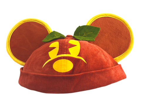 Pumpkin Mouse Brimless Ear Hat - Dapper Digs Trading Co