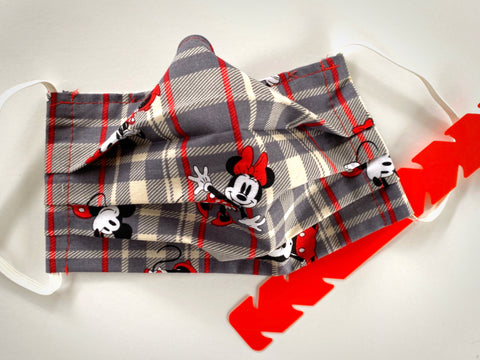 Plaid Mouse Face Mask - Dapper Digs Trading Co
