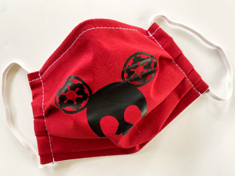 Mouse Wars Face Mask - Dapper Digs Trading Co