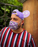 Bone Daddy Mask and Ear Saver Ear Cap Combo - Dapper Digs Trading Co