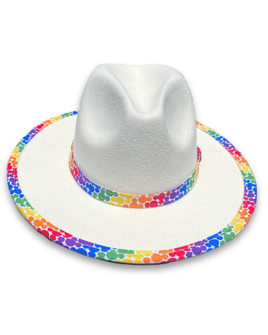 Mouse Pride Unisex Fedora - Dapper Digs Trading Co
