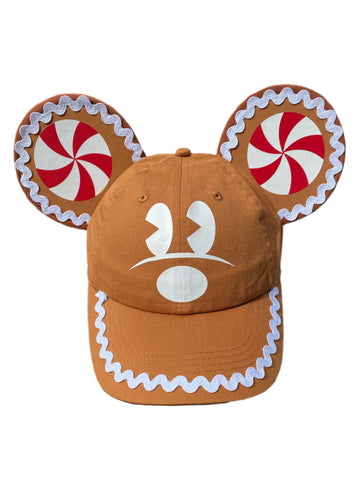 Gingerbread Mouse Ears with Character - Dapper Digs Trading Co