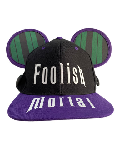 Foolish Mortal Mask and Ear Saver Ear Snapback Combo - Dapper Digs Trading Co