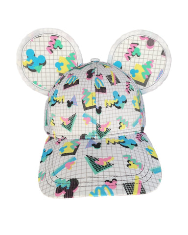 90s Mouse Grid Ears with Character - Dapper Digs Trading Co