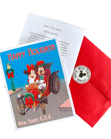Limited Release Mainstreet Holiday Greeting Cards - Dapper Digs Trading Co