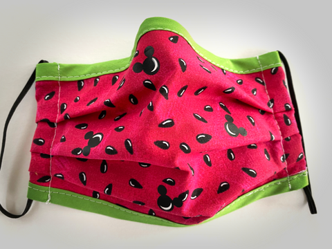 Watermelon Mouse Face Mask - Dapper Digs Trading Co