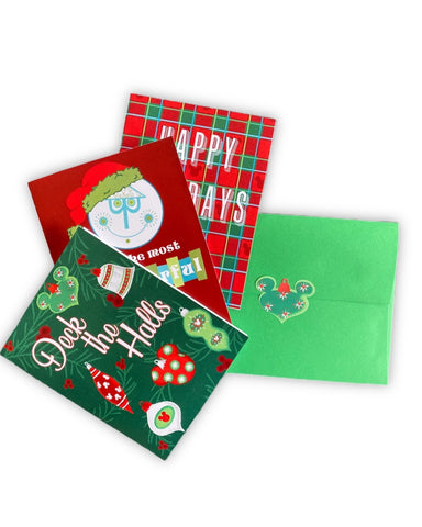 Assorted Holiday Greeting Cards - Dapper Digs Trading Co