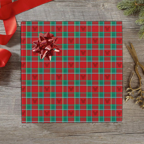 Holiday Plaid Print Gift Wrap - Dapper Digs Trading Co