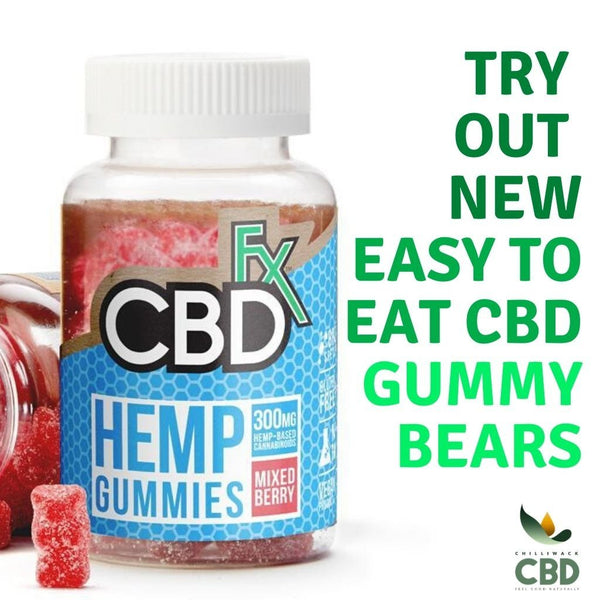 Try out new easy to eat CBD Gummy Bears