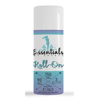 Essentials By Savage Roll On Relief Full Spectrum CBD 750mg - CBD Canada