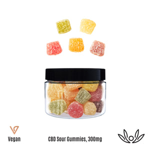 CBDYou Sour CBD Isolate Gummies 150mg & 300mg - Chilliwack Essentials Co