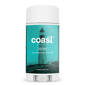 Coast Botanik Cool Stick Balm Full Spectrum CBD 500mg - CBD Canada