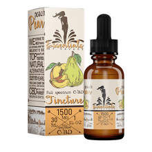 Load image into Gallery viewer, Essentials by Savage Peach & Pear CBD Tincture Oil 1000/1500/2000 - Chilliwack CBD Canada