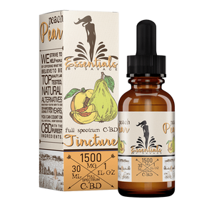 Essentials by Savage Peach & Pear Full Spectrum CBD Oil Tincture 1000mg/1500mg/2000mg - CBD Canada