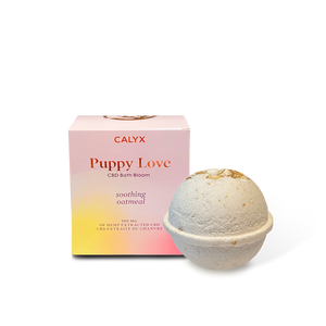 Calyx Wellness 'Puppy Love' CBD Bath Bloom - Chilliwack Essentials Co