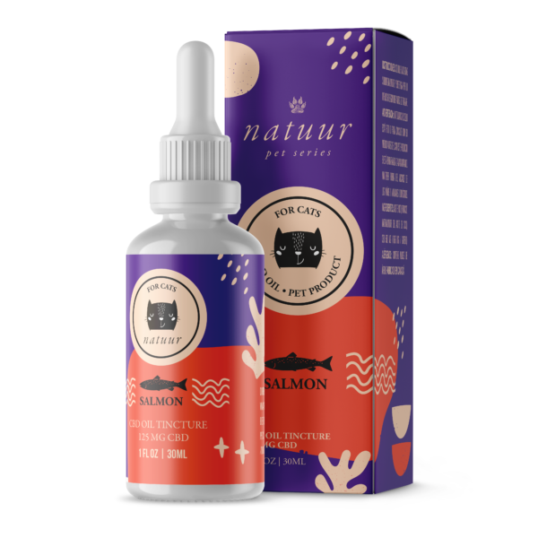 Natuur CBD Oil For Cats 125mg - CBD Canada