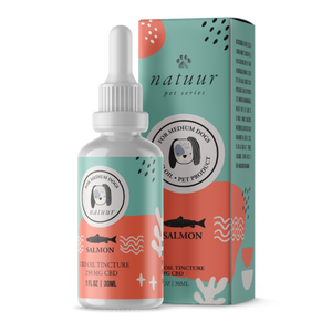 Natuur CBD Oil For Dogs Salmon Flavor - CBD Canada