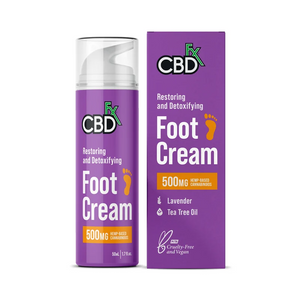 CBDfx CBD Foot Cream Lavender 500mg - CBD Canada