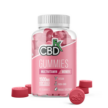 Load image into Gallery viewer, CBDfx Gummies Canada CBD + Multivitamin for Women 1500mg (60 count bottle) - Chilliwack Essentials Co