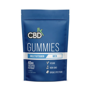 CBDfx Gummies Canada CBD + Multivitamin for Men 40mg (8 count) Pack - CBD Canada
