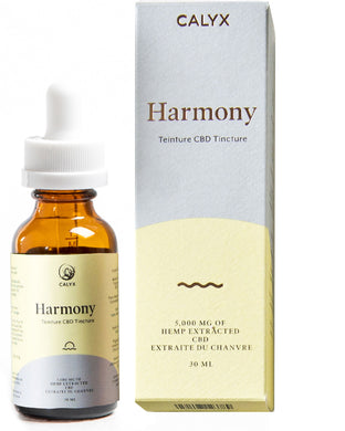 Calyx Wellness 'Harmony' CBD Isolate Oil 5000mg - Chilliwack Essentials Co