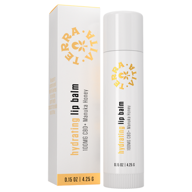 Terra Vita Hydrating Manuka Honey CBD Lip Balm - CBD Canada