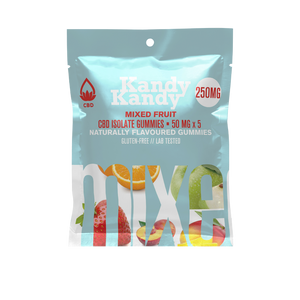 Kandy Kandy CBD Isolate gummies 250mg - Chilliwack Essentials Co