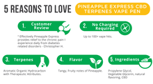Load image into Gallery viewer, CBDfx Pineapple Express Terpenes  Vape Pen - 50mg - CBD Canada
