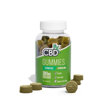 Load image into Gallery viewer, CBDfx Vegan CBD Gummies Canada with Turmeric & Spirulina - Chilliwack Essentials Co