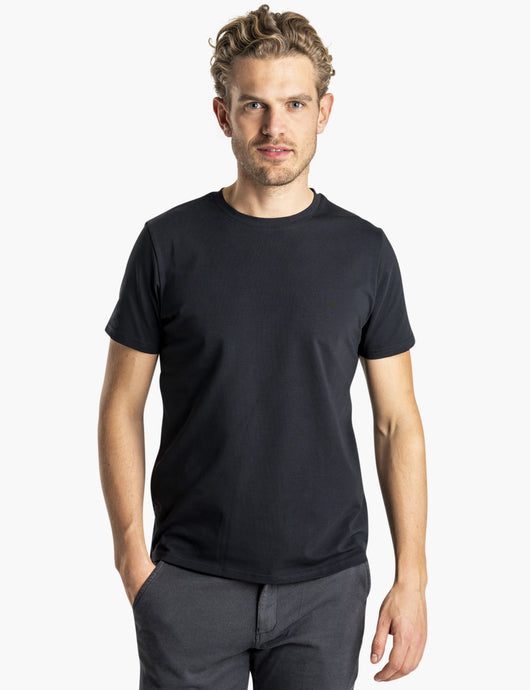 SNT Supima T-shirt Black