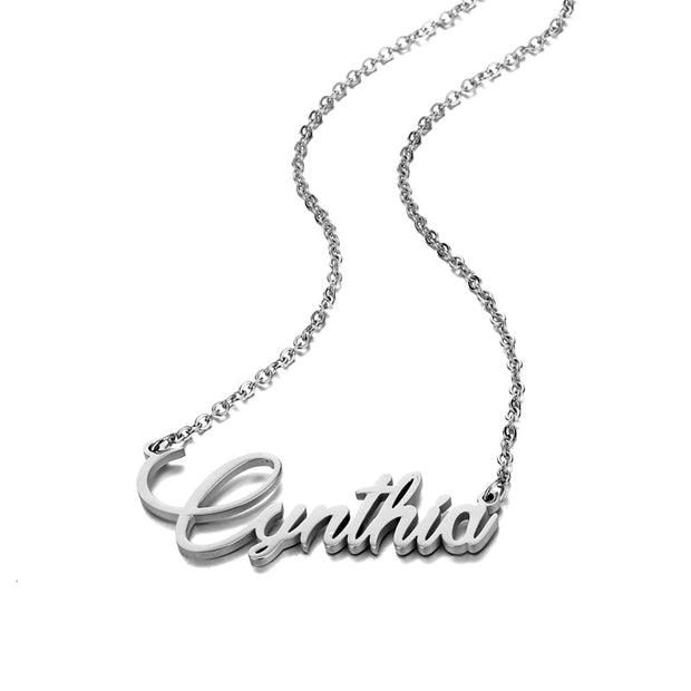 Cynthia | Name Necklace