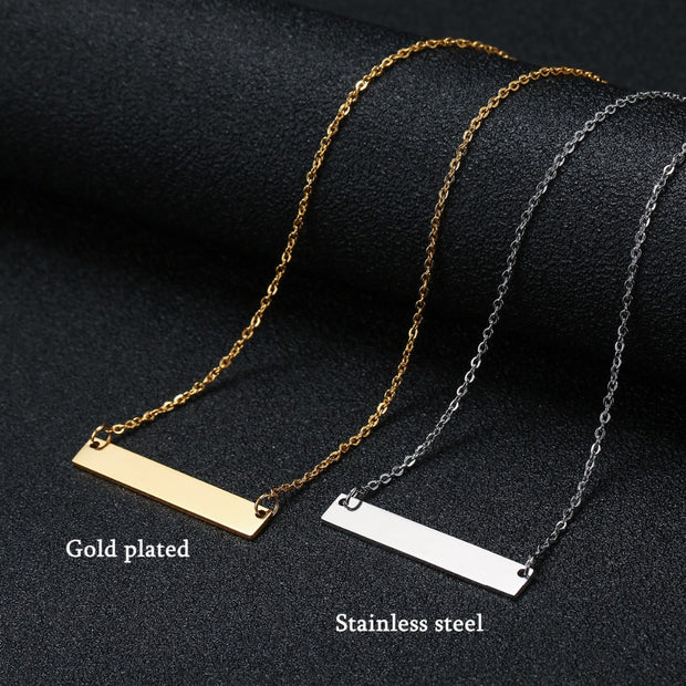 Bar | Name Necklace