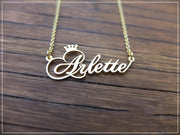 Crown | Name Necklace