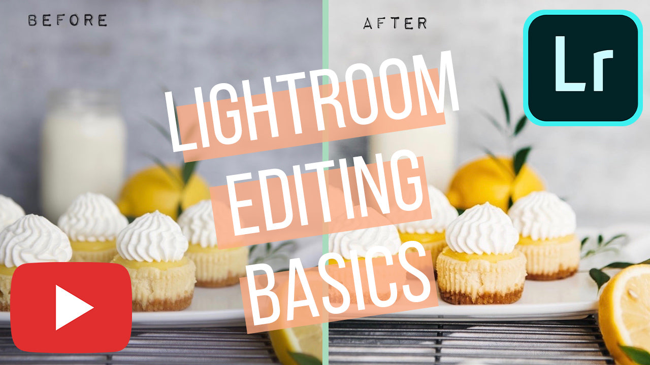 Lightroom editing basics for mobile + desktop