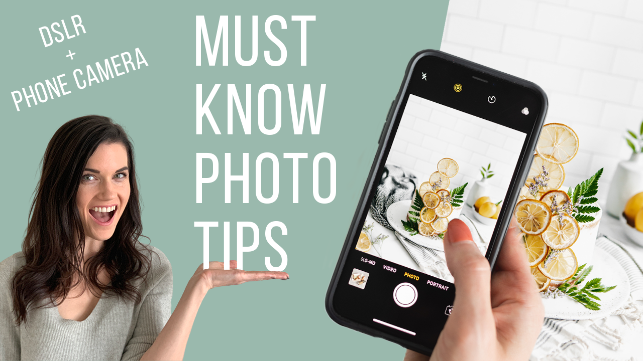 Must-know photography tips