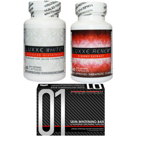 Luxxe White and Renew Combo Pack