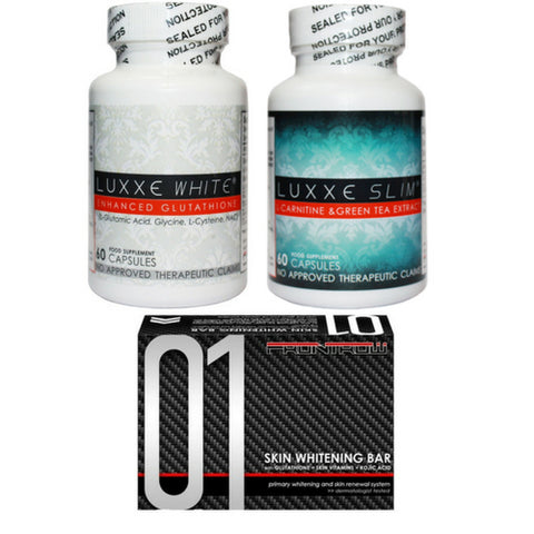 Luxxe White and Slim Combo Pack
