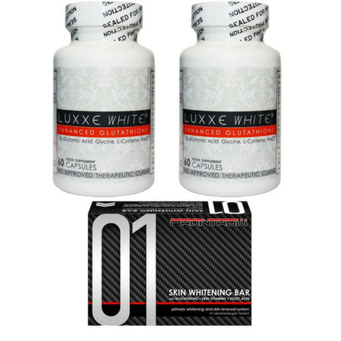 Luxxe White Pure Whitening Combo Pack