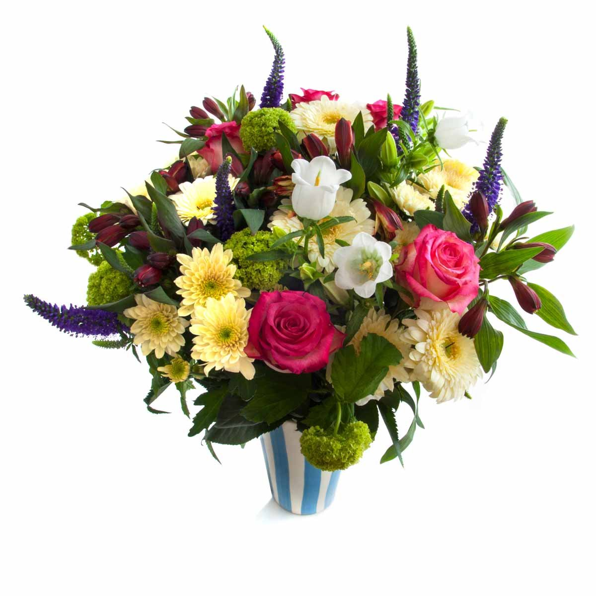 Rose Gifts | Tropical Shine Mixed Bouquet - Enduring Roses