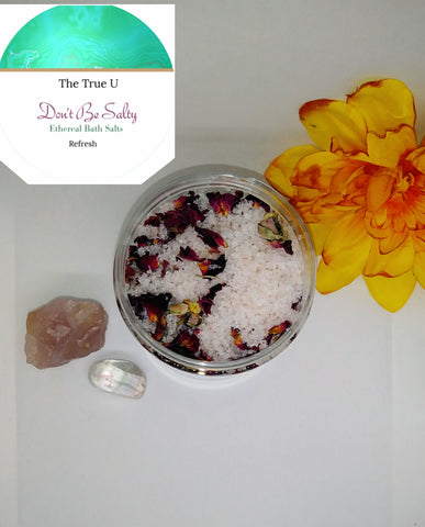Don't Be Salty: Ethereal Bath Salts
