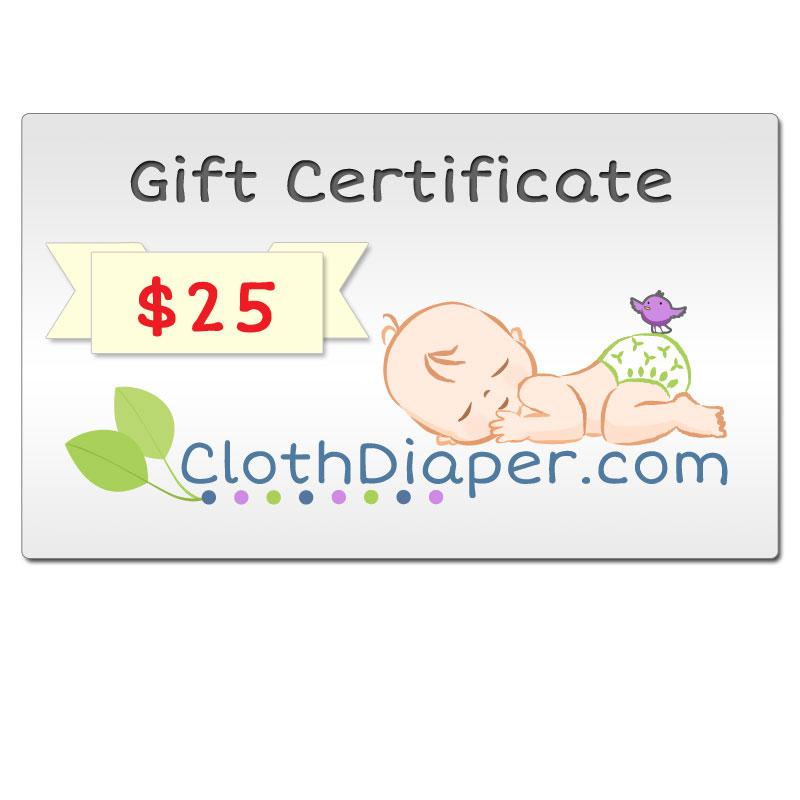 Gift Certificates From $25 to $500,