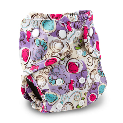 Buttons One Size Cloth Diaper Cover