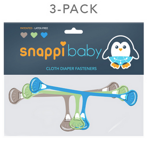 Snappis Diaper Fasteners