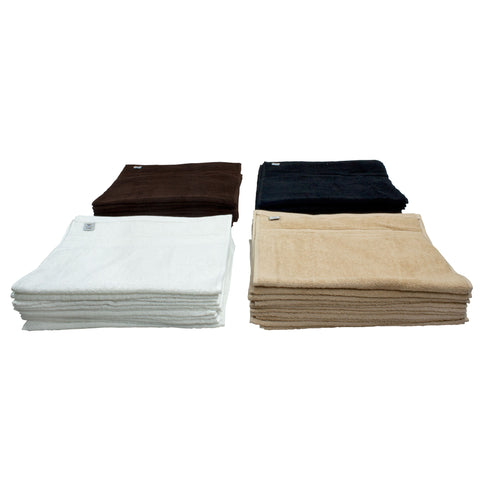 Assurance Combed Cotton Hand Towels ( 400 GSM ) - 12 pack