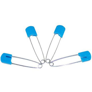 Plastic Headed Diaper Pins - 4 Pack