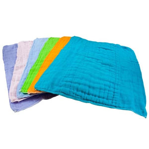 Burp Cloths Dyed Prefolds (3 pk)