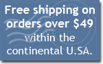 free shipping on orders over $49