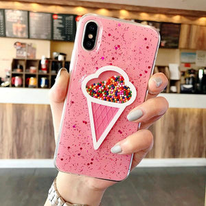 Dynamic Pink Ice Cream Case