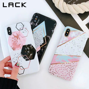 Candy-Color Marble Phone Case