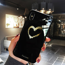 Luxury Heart Phone Case
